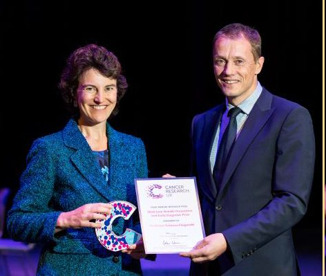 Professor Rebecca Fitzgerald wins the Jane Wardle prize