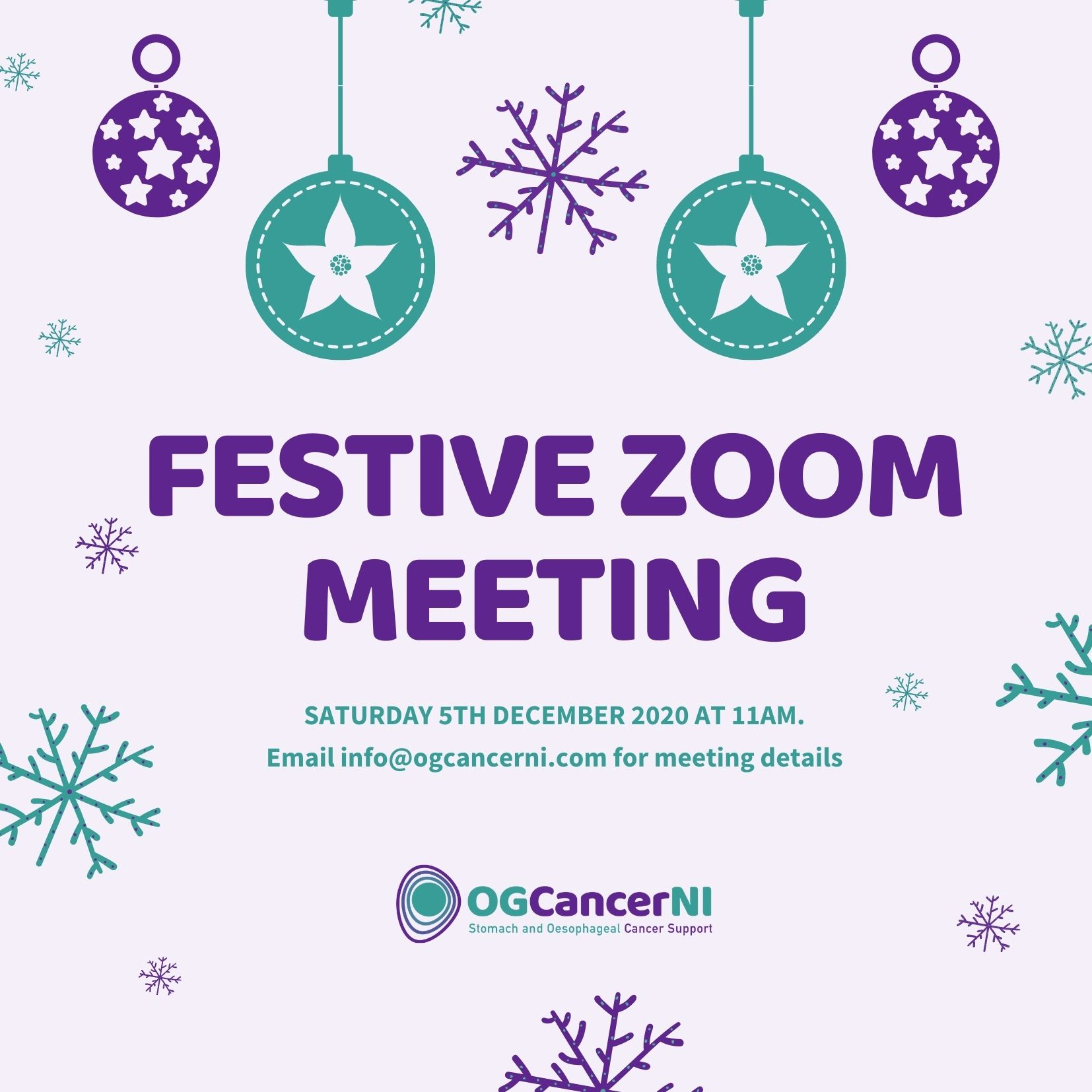 Festive Zoom Meeting