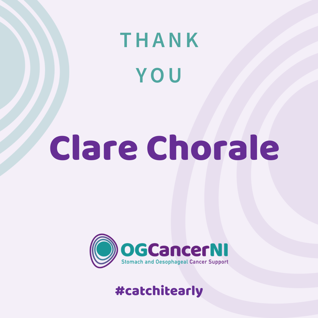 Thank you Clare Chorale!