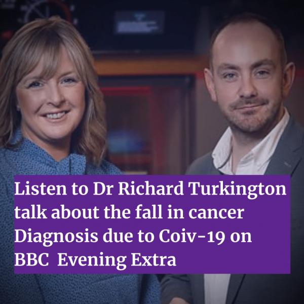 Dr Richard Turkington interviewed on BBC Evening Extra